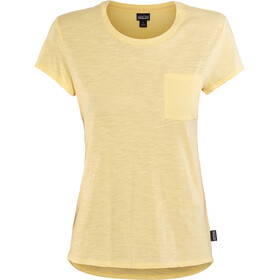Patagonia Mainstay t-shirt Dames, crest yellow